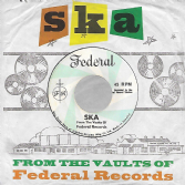 Various - Ska: From The Vaults Of Federal Records (Kingston Sounds) LP